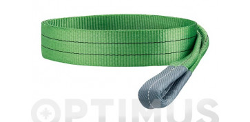 ESLINGA PLANA DOBLE 2 TN60 MM/4 M VERDE