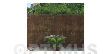Cercado y ocultacion jardin - BREZO NATURAL DECO (1 CM)1X5 M