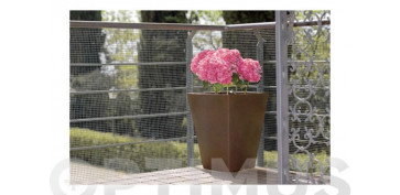 Cercado y ocultacion jardin - MALLA CUADRANET (MALLA 5X5MM) 300GR/M21X25 GRIS