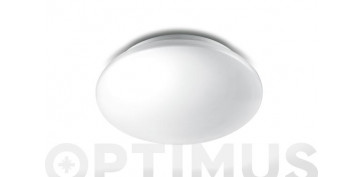 Iluminacion vivienda - PLAFON COMPACTO LED MOIRE 4000K - 1100LMØ31,9X7