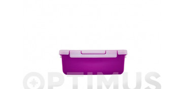 Reutilizable Eco-Friendly - CONTENEDOR HERMÉTICO MORADO0.75 L