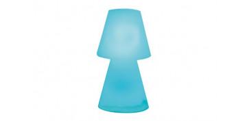 Iluminacion vivienda - LAMPARA LOLA SOBREMESA JARDIN (FUNC.PILAS)Ø11X20CM