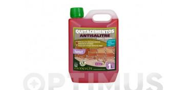 Productos de limpieza - LIMPIADOR SUELOS QUITACEMENTO ANTISALITRE SANET 1L