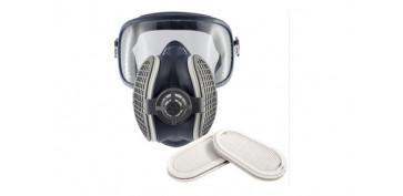 Proteccion de la cabeza - MASCARA ELIPSE INTEGRA P3 PARA POLVO, HUMOS Y VAPOFILTRO DE RECAMBIO REF. SPR-316 Y SPR-341