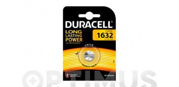 Pilas y baterías - PILA ESPECIAL BOTON LITIODL-1632 BL.1