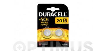 Pilas y baterías - PILA ESPECIAL BOTON LITIODL-2016 BL.2