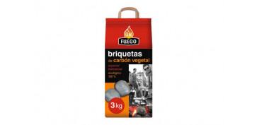 Barbacoas - BRIQUETAS CARBON VEGETAL3 KG