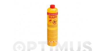 """CARTUCHO GAS CON VALVULA 750 MLMAPP GAS  7/16\"""""""