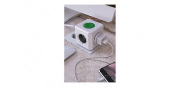 Material instalacion electrico - ADAPTADOR 4 TOMAS + CONTROL SMARTHOME