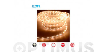 Decoración - TUBO FLEXILED EXT/INT MULTIFUNCION 36LEDS/MBLANCO CALIDO-ROLLO