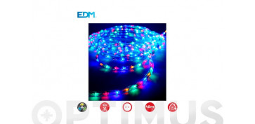 Decoración - TUBO FLEXILED EXT/INT MULTIFUNCION 36LEDS/MMULTICOLOR-ROLLO