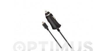 Telefonia - CARGADOR AUTO MICRO USB 2,1ANEGRO