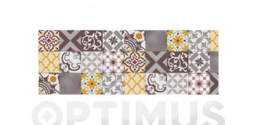 Decoración - ALFOMBRA VINILICA CROMA 50X140 CMPATCH GRIS AMBAR