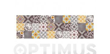 Decoración - ALFOMBRA VINILICA CROMA 60X200 CMPATCH GRIS AMBAR