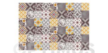 Decoración - ALFOMBRA VINILICA CROMA 120X180 CMPATCH GRIS AMBAR