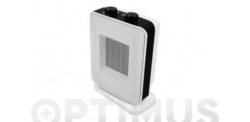 Calefacción electrica - CALEFACTOR CERAMICO OSCILANTE BLANCO900/1800W