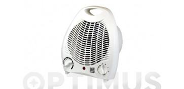 Calefacción electrica - TERMOVENTILADOR VERTICAL CON ASA BLANCO1000/2000W