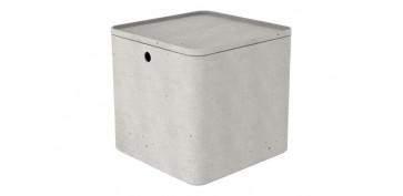 Cajas y baules - CAJA  BETON CUBE  XS 3L GRIS CEMENTO