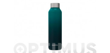 Reutilizable Eco-Friendly - BOTELLA TERMO INOX SOLID 630 ML VERDE MARINO DEGRADE