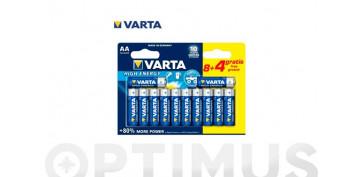 Pilas y baterías - PILA ALCALINA LONG LIFELR03 AA BL.8+4