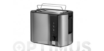 Electrodomesticos de cocina - TOSTADOR DOS RANURAS CORTAS INOX 800 W