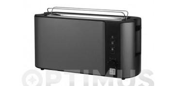Electrodomesticos de cocina - TOSTADOR UNA RANURA EXTRALARGA INOX. GRIS 1000 W