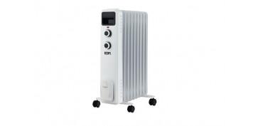Calefacción electrica - RADIADOR ACEITE TAMAÑO BAJO MESA 9 ELEMENTOS 2000 W