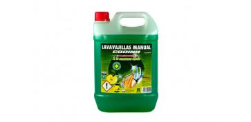 Productos de limpieza - LAVAVAJILLAS MANUAL PROFESIONAL5 L MANZANA VERDE