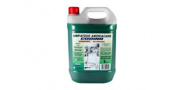 Productos de limpieza - LIMPIADOR AMONIACADO PROFESIONAL 5 L