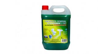 Productos de limpieza - LIMPIADOR POTENTE AL PINO PROFESIONAL5 L