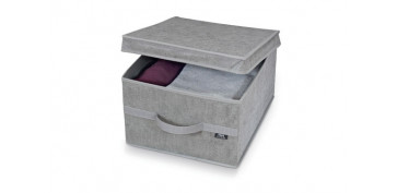 Cajas y baules - CAJA GUARDA ROPA STONE L38 X 50 X 24 CM