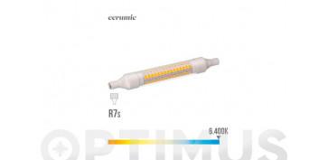 Novedades - LAMPARA  LINEAL LED 360ºR7S 78 MM 5,5 W LUZ FRIA