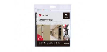 Adhesivos - CINTA CIERRE ALFA-LOCK ADHESIVA25 MM X 3 M NEGRO