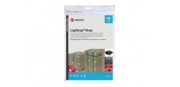 CORREA AJUSTABLE GANCHO Y BUCLE LOGISTRAP (2 UNID)50 MM X 6 M VERDE