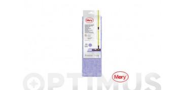 Utiles de limpieza - RECAMBIO MOPA MICROFIBRA LILA45 CM