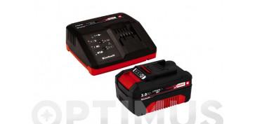 Complementos y repuestos de maquinaria - CARGADOR + BATERIA POWER-X18V 3.0 AH