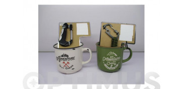 Vajillas - MUG SET REGALO OUTDOORSURTIDO