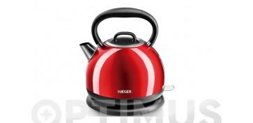 Electrodomesticos de cocina - HERVIDOR AGUA 1,7 LROJO 2200 W