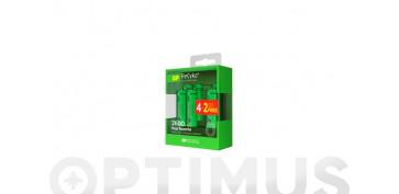 Pilas y baterías - CARGADOR PILAS 4/2 PILAS AA-AAAINCLU. 4XAAA 800MAH