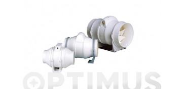 Ventiladores y extractores - ESTRACTOR DE CONDUCTO IN LINE100/130 LINEAL 25W 130M3/H