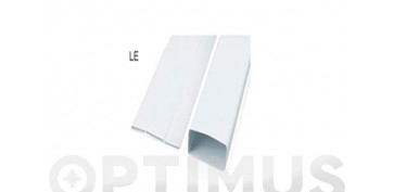 Ventiladores y extractores - TUBO EXTRACCION PLEGABLE PVC RECTANGULAR1M - 110X55MM