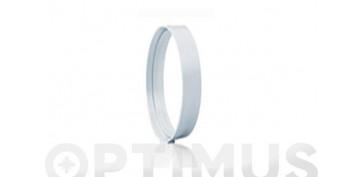Ventiladores y extractores - UNION CILINDRICA TUBO EXTRACION PVCØ120 - 100MM