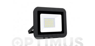 Iluminacion vivienda - PROYECTOR LED PLANO 10W1000LM FRIA