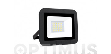 Iluminacion vivienda - PROYECTOR LED PLANO 30W3000LM FRIA