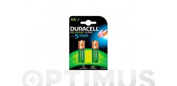 Pilas y baterías - PILA RECARGABLE ULTRA DURACELLAA LR06 BL.2