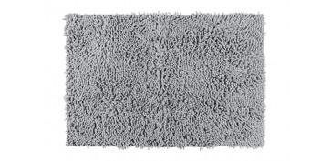 Alfombras y cortinas - ALFOMBRA DE BAÑO CHENILLE GRIS CLARO50 X 80 CM