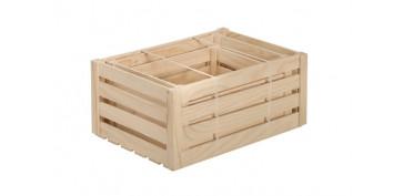 Cajas y baules - CAJA MADERA DE PINO SET 3 UDS