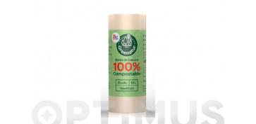BOLSA BASURA COMPOSTABLE 10 L (25 UDS)44X44 CM G-60