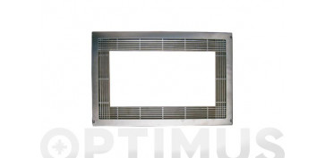 Ordenacion - MARCO MICROONDAS PLASTICO INOXIDABLE60 X 40 CM