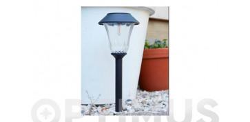 Iluminacion vivienda - BALIZA SOLAR FILAMENTO LED SAINT TROPEZ
